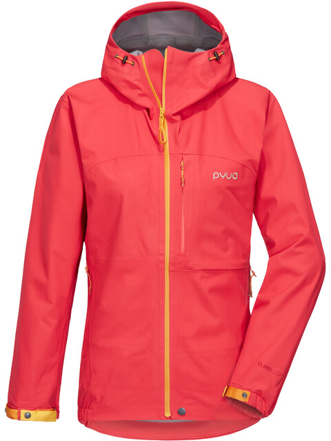 PYUA Gorge 3-Layer Jacket Women barberry pink